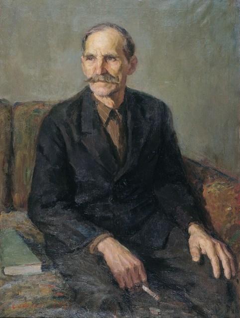 , 'Portrait of a comrade,' 1965, Surikov Foundation