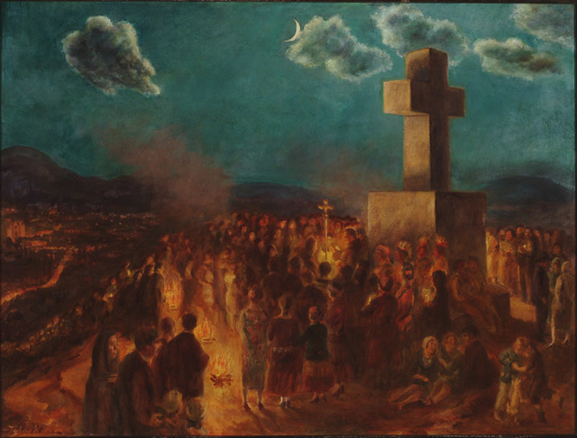 , 'Procession to the Cross of the Martyrs,' 1930, Delaware Art Museum
