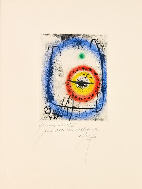 , 'Le Prophète,' 1958, Galerie Maximillian