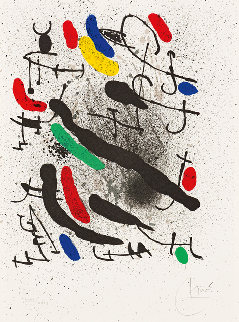 Joan Miró, 'Liberté des Libertés', Strauss & Co