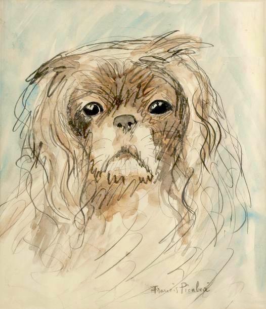 Francis Picabia, 'Tête de chien', ca. 1927, BAILLY GALLERY