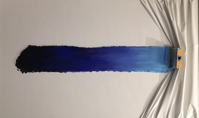 , 'Brosse arrêtée bleue,' , Galerie Vivendi