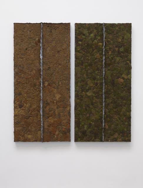 , 'Moss (diptych),' 1979-1991, Marianne Boesky Gallery