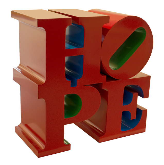 ", '""HOPE"" red-blue-green,' 2008, Contini Art Gallery"