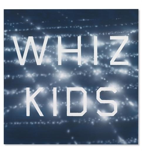 Ed Ruscha, 'Whiz Kids', Christie's