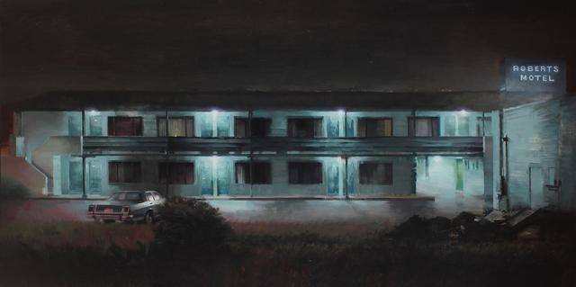 Kim Cogan, 'Ol Roberts Motel', 2019, Painting, Oil on canvas, Hashimoto Contemporary