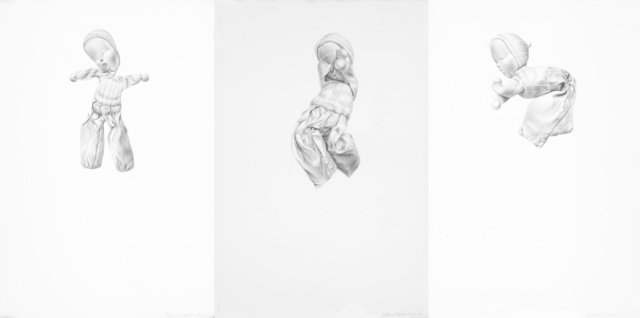 Constance Edwards Scopelitis, 'Something to Live For: 1, 2, and 3 pm', 2016, Drawing, Collage or other Work on Paper, Graphite on paper, Garvey | Simon