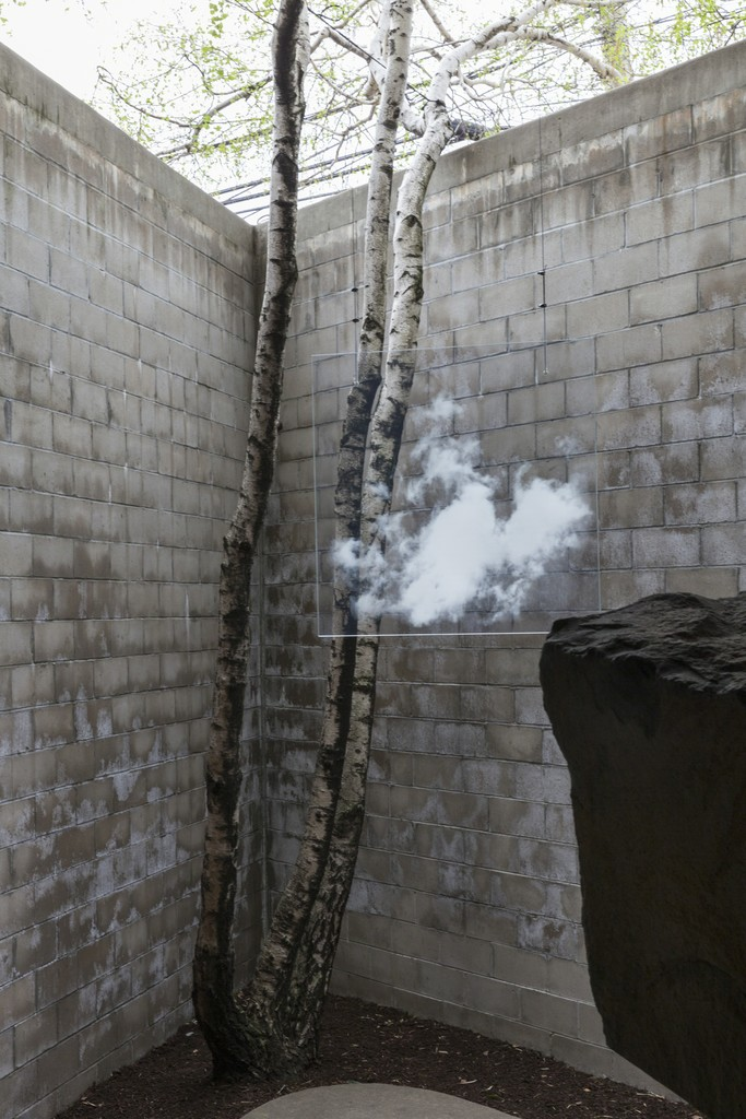 'Miya Ando: Clouds.' Photo ©Elizabeth Felicella / The Isamu Noguchi Foundation and Garden Museum, NY / ARS.