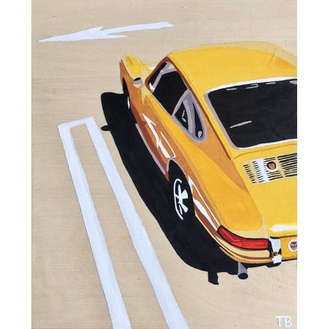 , 'Yellow Porsche,' 2019, Specto Art Space