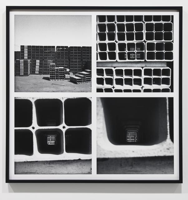 , 'Concrete Visions,' 1967, Parafin