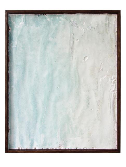 , 'Drifting Veil (Sea Foam),' 2017, Prosjektrom Normanns