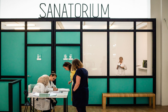, 'Installation view of Sanatorium from Whitechapel Gallery, London,' , ICA Miami