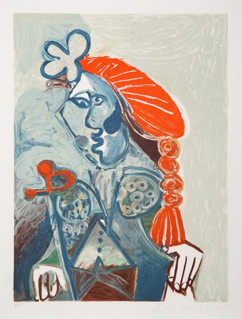 Pablo Picasso, 'La Femme Avec le Béret Rouge, 1968', 1979-1982, Print, Lithograph on Arches paper, RoGallery
