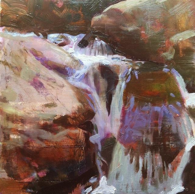 , 'Brook Over Rocks,' 2015, Somerville Manning Gallery
