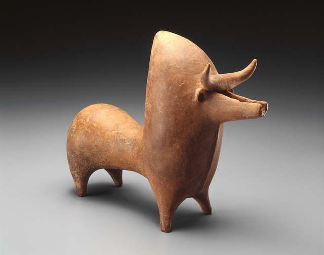 'Rhyton in the form of a Zebu bull', ca. 1000-800 B.C., Indianapolis Museum of Art at Newfields