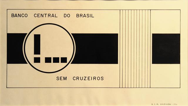, 'Sem Cruzeiros,' 1976, Roberto Alban Galeria de Arte