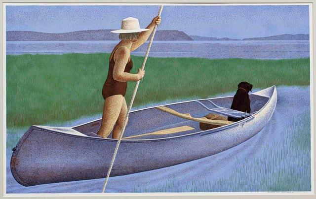 , 'Woman, Dog and Canoe,' 1982, Michael Gibson Gallery