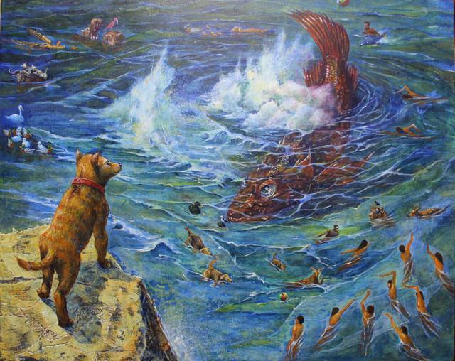 , 'Rockfish in the dream,' 2014, galerie bruno massa