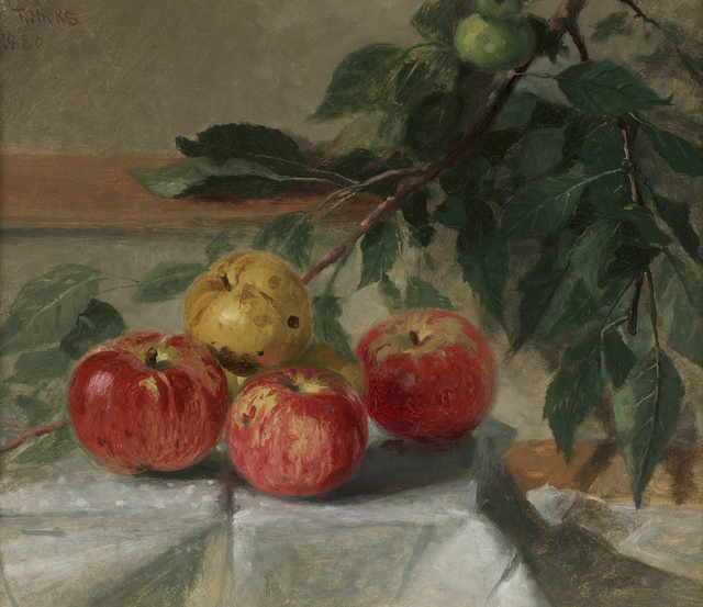 , 'Still Life with Apples,' 1880, Debra Force Fine Art
