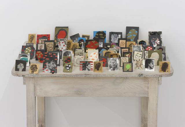 , 'Collages from the Fish-Eye series,' 1988, Galerija Gregor Podnar