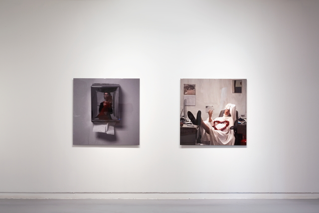 , 'Installation view of Privilege series.,' 2016, Savina Museum of Contemporary Art