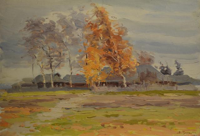 Vasily Vasilievich Tulin, 'Windy day', 1958, Surikov Foundation