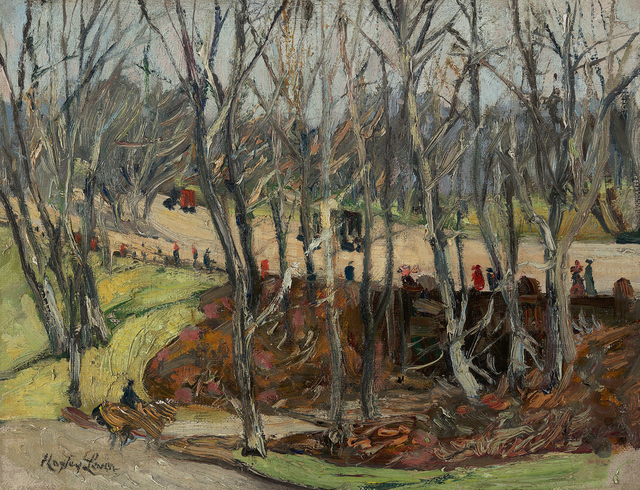 , 'Central Park,' , Questroyal Fine Art