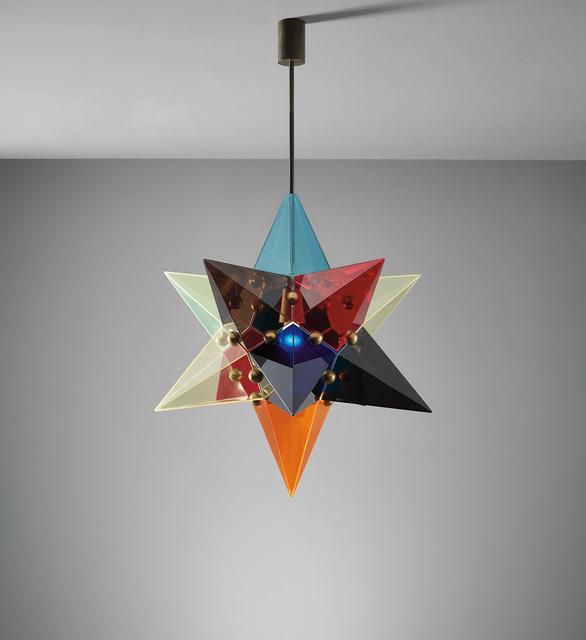Arredoluce, 'Rare ceiling light', 1960s, Phillips