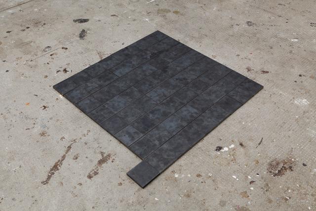 , 'Steel Piece, d'après une pièce de Carl Andre,' 2011, Bodson