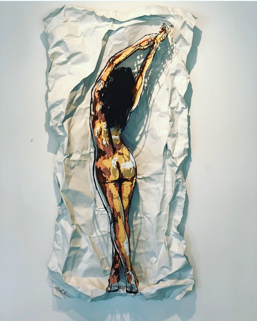 , 'Ava,' 2018, Oliver Cole Gallery
