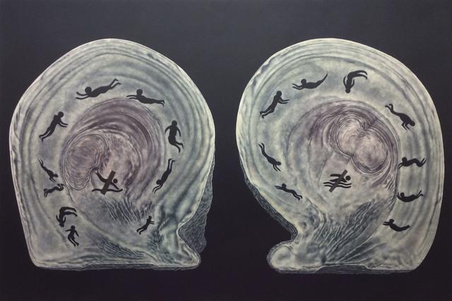 , 'The Swimmers,' , Queenscliff Gallery & Workshop