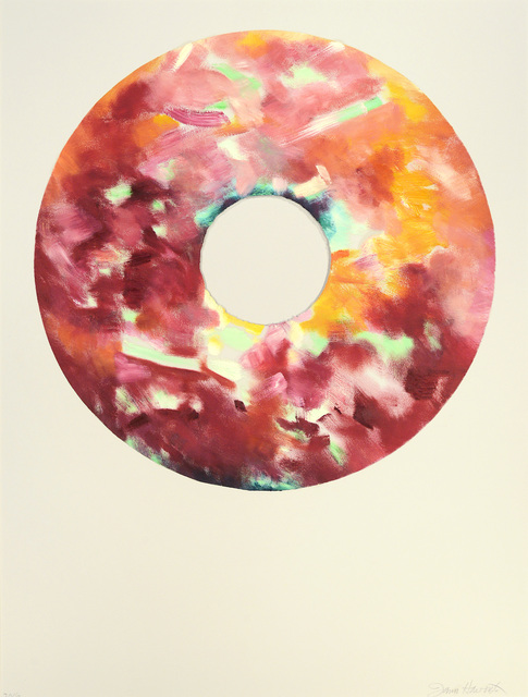 , 'Red Velvet Devil's Food Donut,' 2016, Olivia Connelly