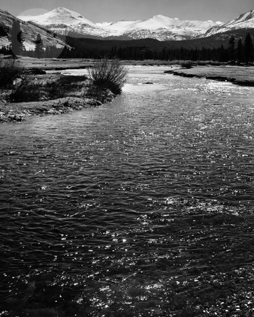 , 'The Tuolumne River, Yosemite,' 1944, Weston Gallery