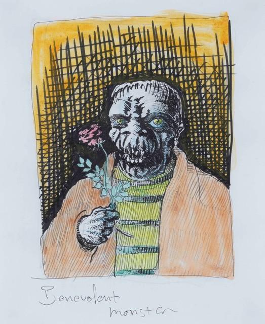 Peter Land, 'Benevolent Monster (Rose)', 2004, Cambi