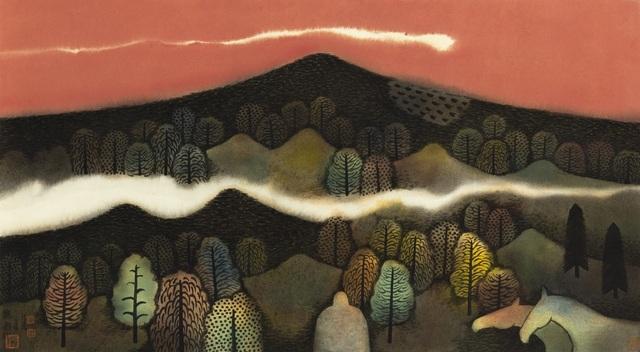 Hong Tao Huang 黄红涛, 'Nameless Hills Series 2 No.156', 2016, White Space Art Asia
