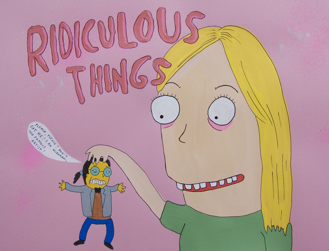 , 'Ridiculous Things,' 2008, Fouladi Projects