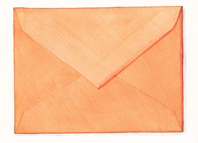 , 'Orange Envelope,' 2016, Garvey | Simon