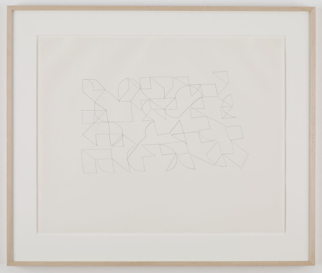 Trisha Brown, 'Untitled', 1990, Drawing, Collage or other Work on Paper, Graphite on paper, Sikkema Jenkins & Co.