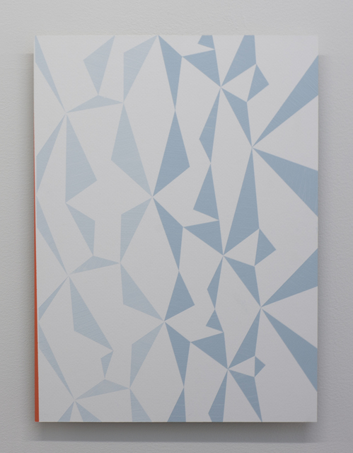, 'Triangle series (study for a bigger painting),' 2015, Galerie Bart