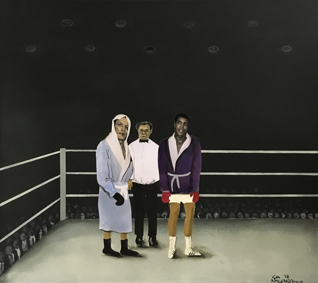 , 'Waiting for the final announcement,' 2018, Goodman Gallery