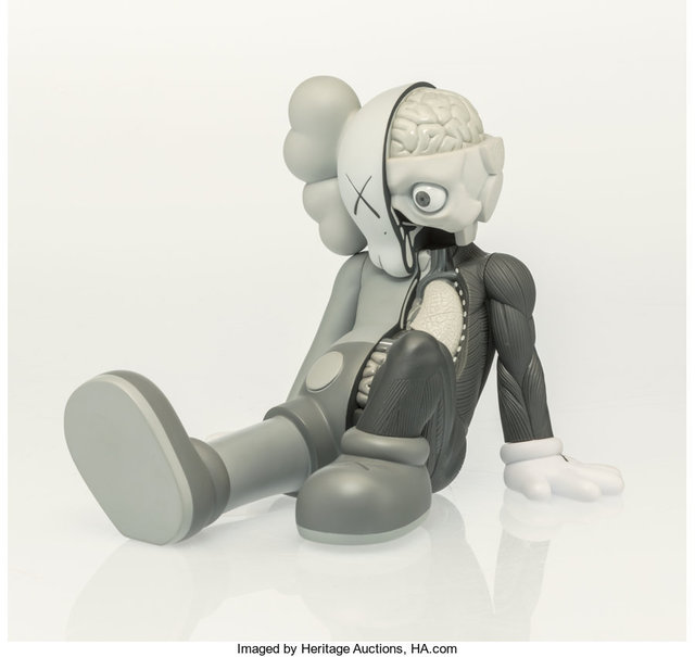 KAWS, 'Resting Place Companion (Grey)', 2013, Heritage Auctions
