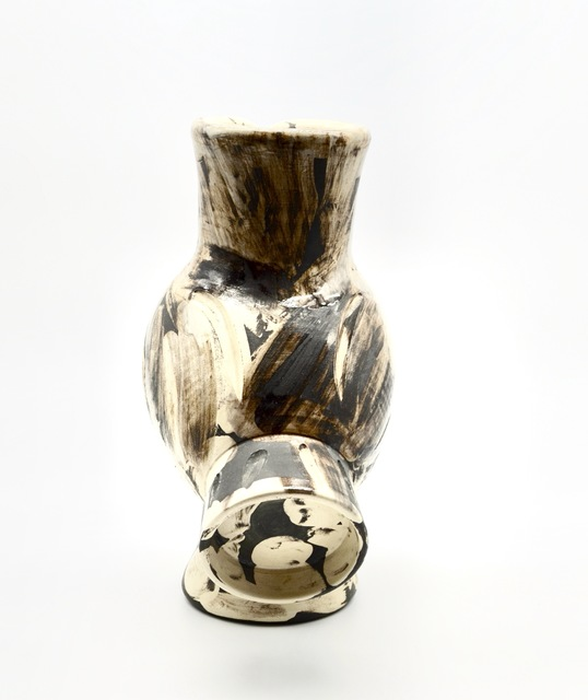 Pablo Picasso, 'Wood-Owl ', 1969, Sculpture, Partially glazed ceramic vase, Off The Wall Gallery