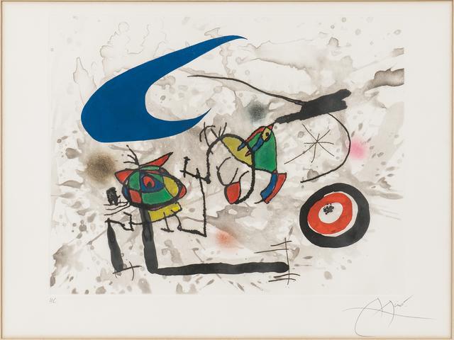 Joan Miró, 'Pygmées sous la lune', 1972, Skinner