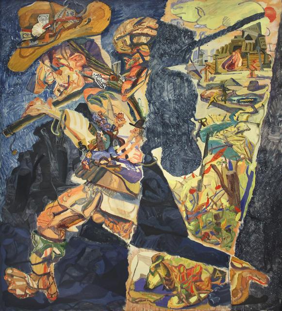 , 'Scenes in a Pilgrim's Life,' 2017-2018, Michael Gibson Gallery