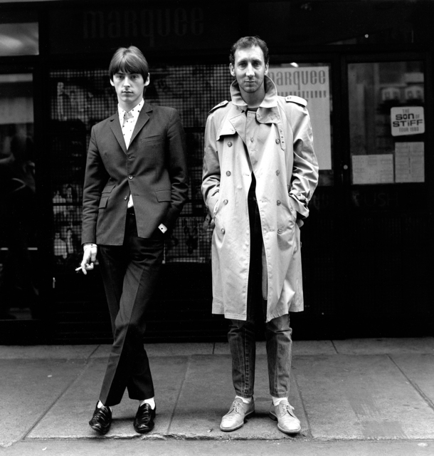, 'Paul Weller & Pete Townshend, Soho, London,' 1980, Fahey/Klein Gallery