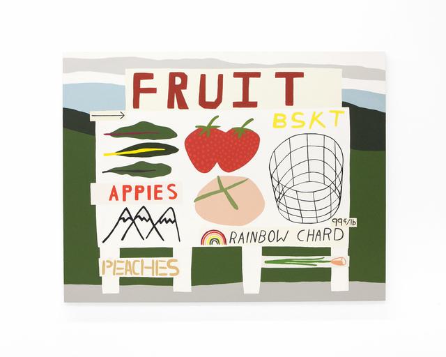 ", '""Fruit Basket Appies Rainbow"",' 2018, pt.2"