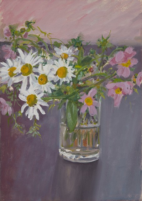 , 'Still Life with Daisies,' 1985, Tibor de Nagy