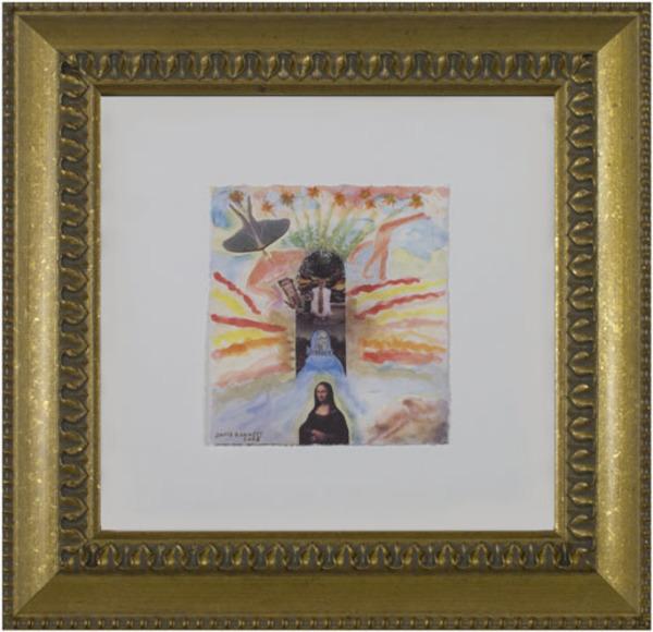 David Barnett, 'Famous Artist Series:  Leonardo & Rodin Dreaming of Jona Lisa', 2008, David Barnett Gallery