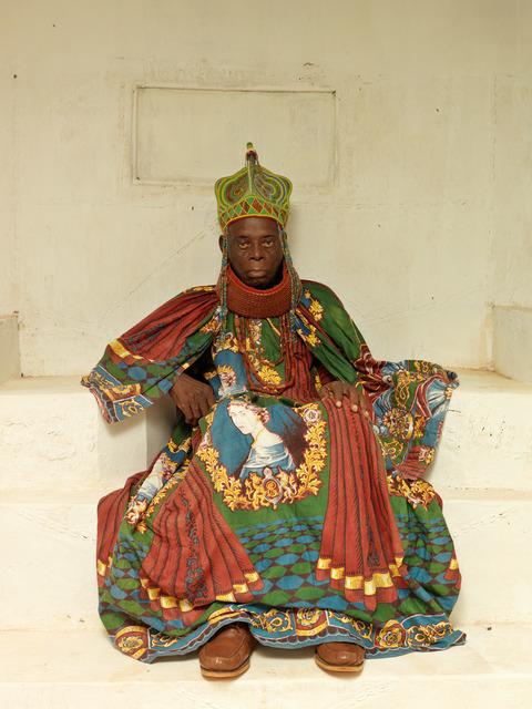 , 'HRM Agbogidi Obi James Ikechukwu Anyasi ll, Obi of Idumuje Unor  (in Palace),' 2012, TAFETA