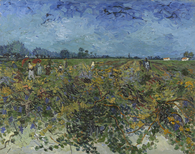 , 'The Green Vineyard,' 1888, National Gallery of Victoria